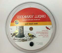 Droll Yankees Bird Feeder Tray, Platform Seed Catcher Access