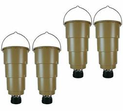 NEW!  MOULTRIE 5 Gallon All in One Hanging Deer Feeders w/ A