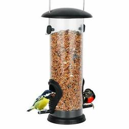 Outdoor Bird Feeder Wild Bird Feeders for Outside Hard Plast