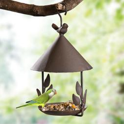 Outdoor Birdfeeders Bird Seed Capacity 12x15x31cm Cage Acces