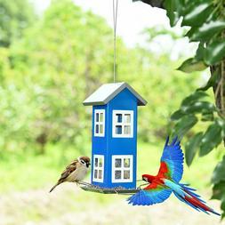 Outdoor Garden Yard Wild Bird Feeder Weatherproof House Acce
