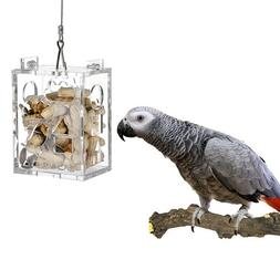 KINTOR Parrot Creative Foraging Toy Feeder Bird Cage, Big Si