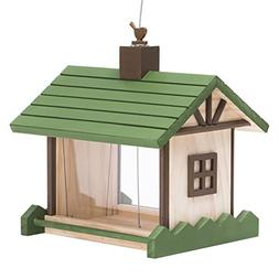 Perky-Pet 50182 Birdie B&B Wood Chalet Bird Feeder