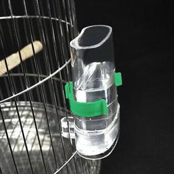 Pet Bird Feeder Drinker Food Waterer Bowl For Aviary Budgie