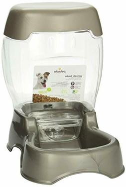 Petmate Pet Cafe Feeder 3 pound capacity Pearl Tan PACK OF 3