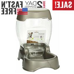 Petmate Pet Café Feeder,6 lb, Pearl Tan,new,fast ship...