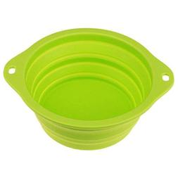 Agordo Pet Dog Folding Dish Bowl Travel Portable Water Feedi