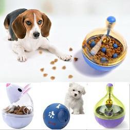 Pet Dog Puzzle Food Dispenser Treat Ball Feeder Training IQ