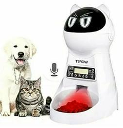 WOpet Pet Feeder,Automatic Cat Feeder Pet Food Dispenser Fee