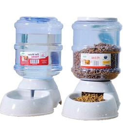 Pet Feeder Drink And Food Cage Water Automatic Plastic Dogs