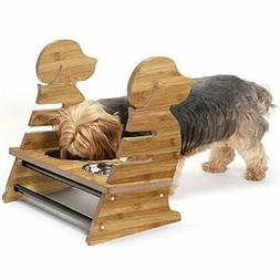 pet feeder puppy style height adjustable raised