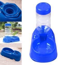Pet's Automatic Water Bottles Dispenser Food Dish Bowl Feede