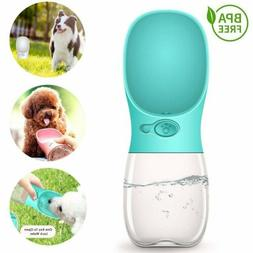 Pet Water Bottle Dispenser Dog Cat  Drinking Travel Feeder T