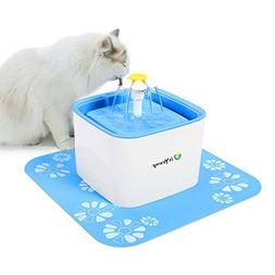 isYoung Pet Water Fountain, 2.5L Super Quiet Automatic Elect