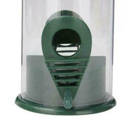 Plastic Bird Feeder Bird Water Dish Outdoor Feeder Dark Acce