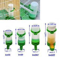 Plastic Bird Feeder/Waterer Automatic Seed Water Feeder Cage