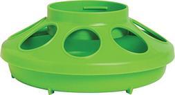 Miller Plastic Feeder Base Lime 1 Quart - 806APPLEGREEN