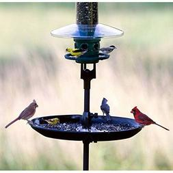 Bird Seed Catcher Platform Tube Feeder Tray Outdoor Back Yar