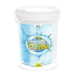 "50 lb Pool Chlorine Tablets 3""-99% Strength-Stabilized Tri-C"