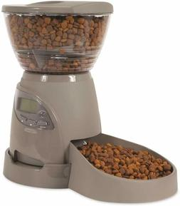 Petmate Portion Right Programmable Feeder - Color BRUSHED NI