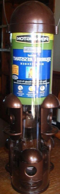 Pennington Premium Squirrel-Resistant Metal Bird Feeder-3 Lb