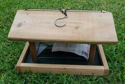 pro4 premier cedar bird feeder
