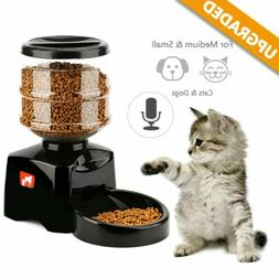 Programmable Timer Automatic Pet Feeder for Dog and Cat with