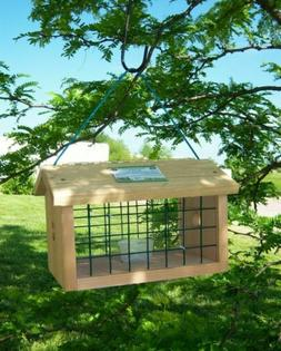 Songbird Essentials Protected Bluebird Jail Bird Feeder
