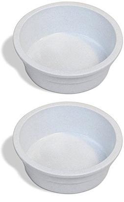 Pureness Heavyweight Large Crock Pet Dish, 52-Ounce, Colors