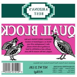 21LB Quail Seed Block,No AZP30020,  Gro Well Brands Cp Inc