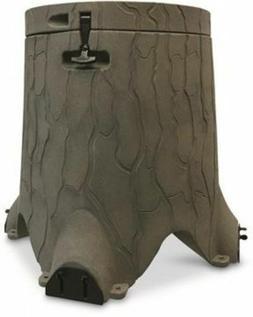 Realistic Wood Stump 35-Gallon 200lb Gravity Deer Feeder Wil
