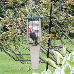 Birds Choice Recycled Double Cake Pileated Suet Bird Feeder