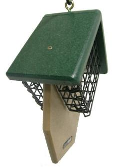 Birds Choice Recycled Double Tail Prop Suet Bird Feeder