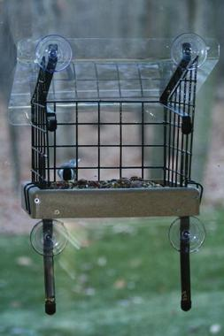 Birds Choice Recycled Small Window Bird Feeder