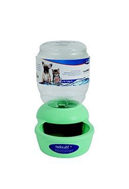 Petmate Replendish Gravity Waterer Mint Cat Bowl, 0.5 Gallon