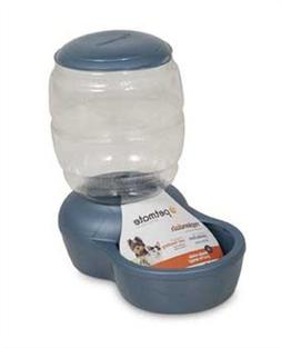 Petmate Replenish Pet Gravity Feeder with Microban, 2-Pound