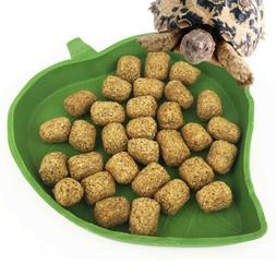 Reptile Water Food Dish Bowl Plastic Gecko Meal Worm Feeder