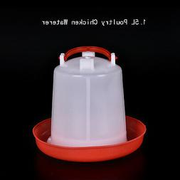 Robust Plastic Chicken Quail Poultry Chick Hen Drinker Food