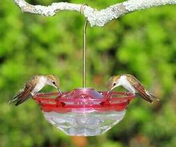 Aspects ROSE HummBlossom 4 oz Hummingbird Feeder 3 Ports USA