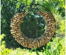 Songbird Essentials SE6019 Whole Peanut Wreath Black