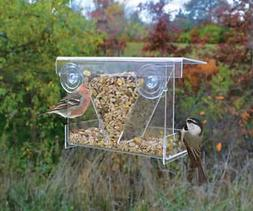 Songbird Essentials SE974 Clear View Hopper Window Feeder