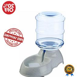 Self-Dispensing Gravity Pet Feeder and Waterier For Cats Or