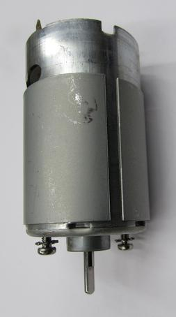 "1/8"" shaft 6v motor for deer and game feeders  with ""D"" shap"