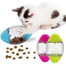 Slimcat Interactive Feeder Cat Toy Puzzle Food Leakage Dispe