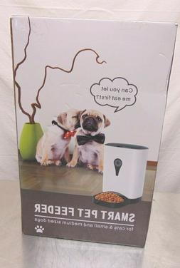 Smart Pet Feeder WiFi Automatic Dog Cat Food Feeder 4.5L Wor