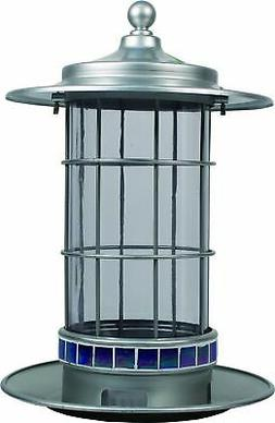 More Birds Songbird Feeder 2.5 Lb Capacity Trellis Lantern
