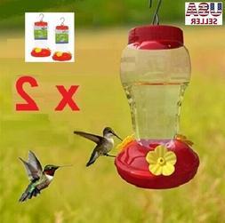 QUALITY HUMMINGBIRD FEEDERS GARDEN COLLECTION - GREAT NECTA