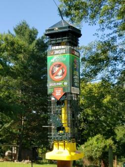 """Squirrel Solution200 5.5""""x5.5""""x30""""  Wild Bird Feeder with 6"""