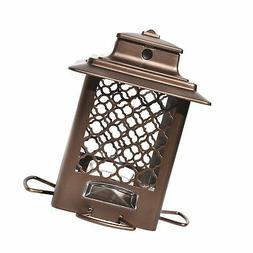 stokes select bird feeder metal hopper bird