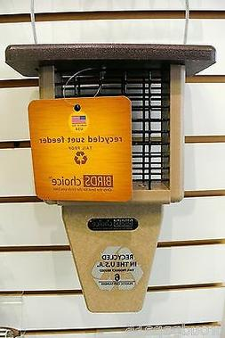 BIRDS CHOICE SUET FEEDER- SINGLE CAKE- RECYCLED POLY-LUMBER